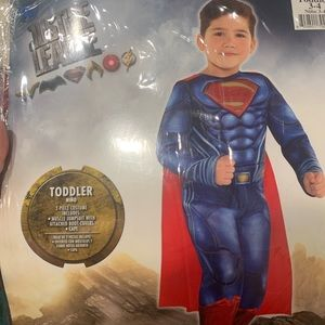 Justice League Toddler 3-4 Superman Muscle Costume